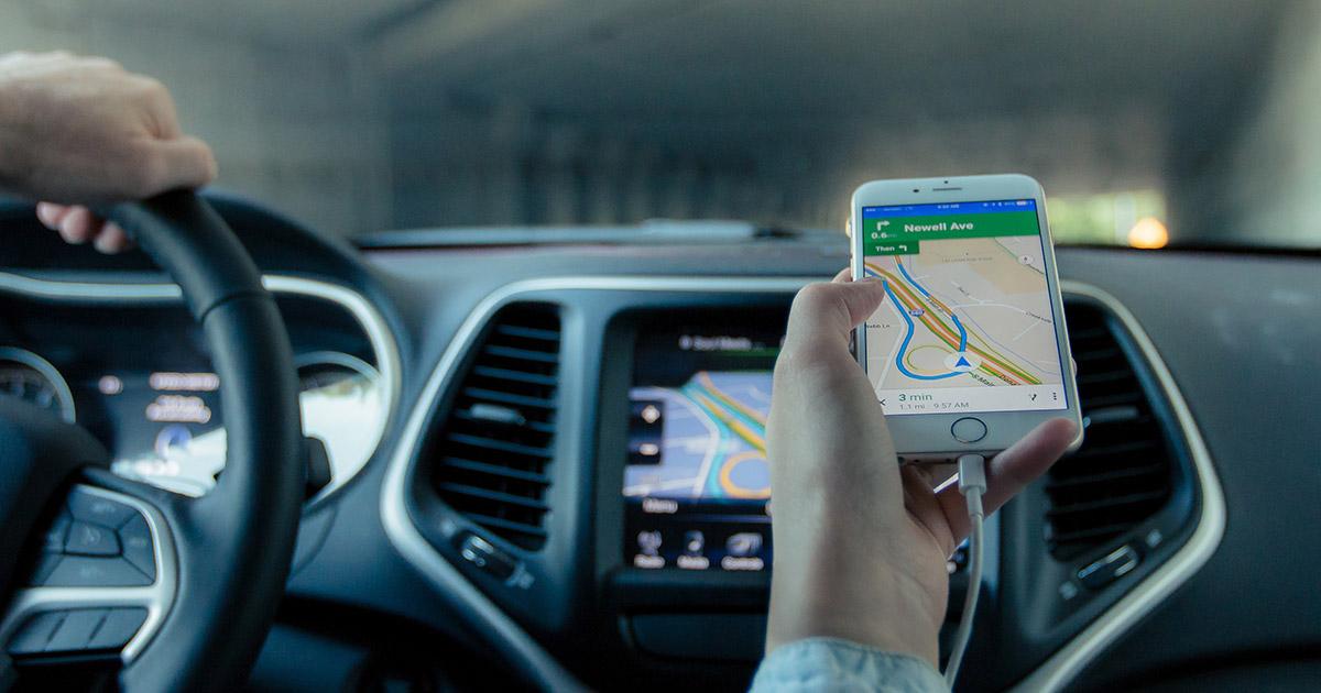 navigacija na mobilnom uređaju
