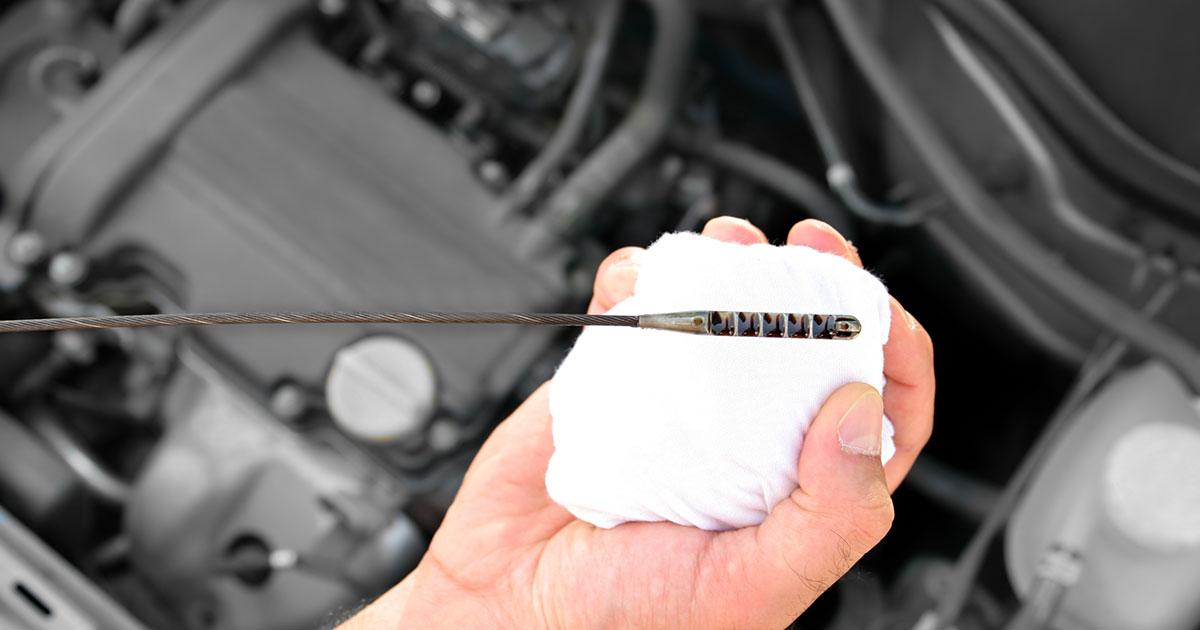 Skala merača ulja u motoru