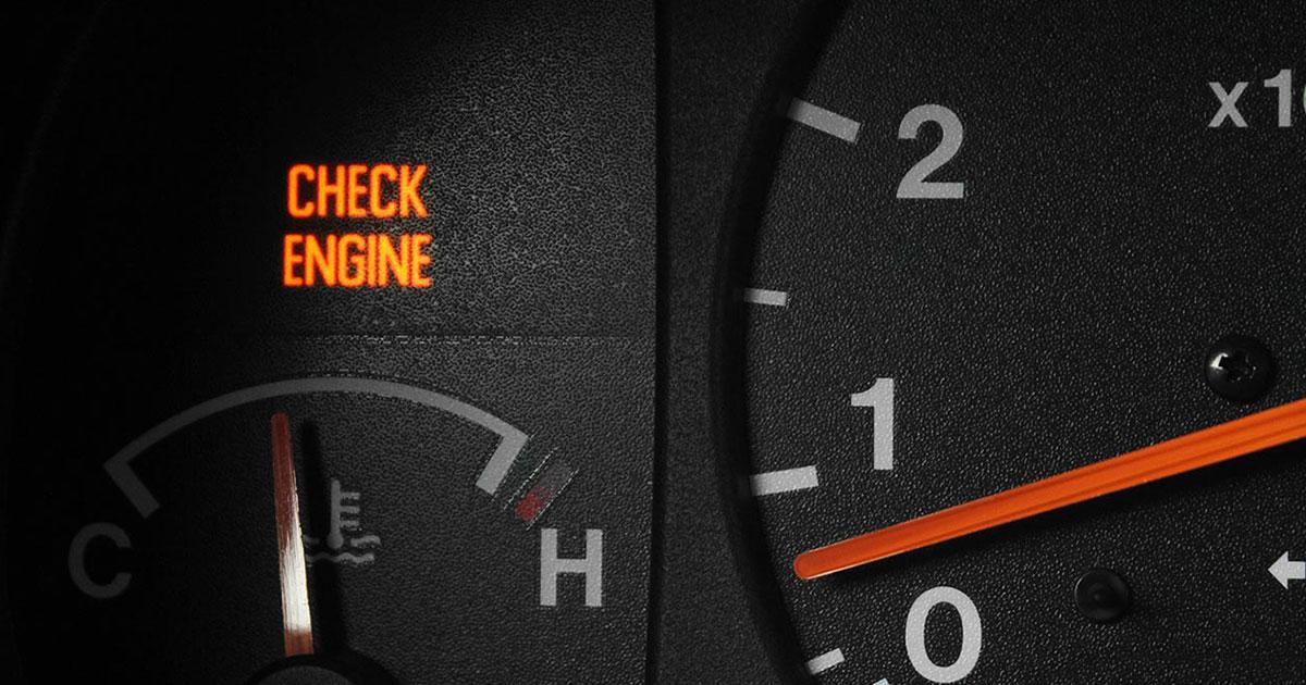 temperaturna skala motora na kontrolnoj tabli